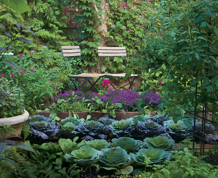 turn edible plantings into works of art with four design strategies - Kitchen Garden Design
