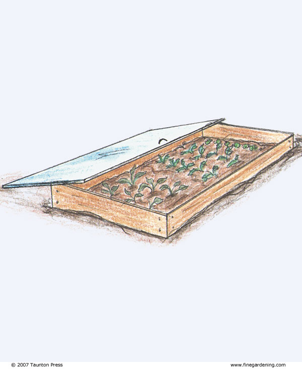 A Portable Wooden Frame With A Rigid Plastic Cover Extends The Harvest  Season Of Cool Season Vegetables And Allows Us To Direct Sow Seeds Earlier  In The ...