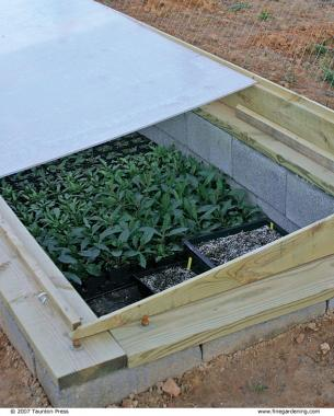 green protection intense placed box from to cold a gardening over diy weather bottomless easy for frame garden hand is plants build steps