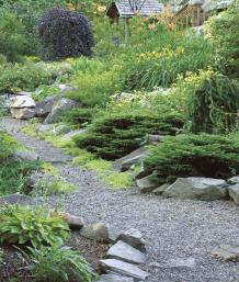 A Site Located On A Bedrock Ledge Was Transformed Into A Thriving Garden By  Creating Sequences Of Planting Pockets. The Authors Linked Their Growing  Areas ...
