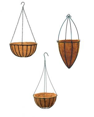 How to build a hanging basket finegardening when it comes to baskets sizeor in this case volumedoes matter the volume of the basket is directly related to the amount of water your hanging garden workwithnaturefo