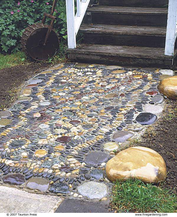 Create A Pebble Mosaic Finegardening