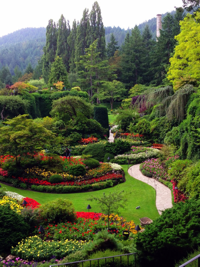 Karen S August Visit To Butchart Gardens Finegardening