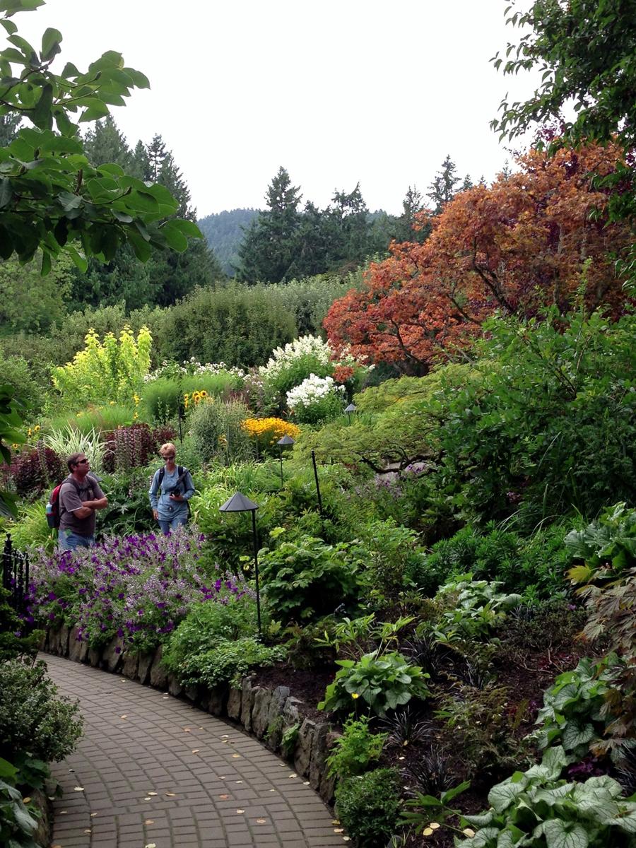 Karen's August visit to Butchart Gardens - FineGardening