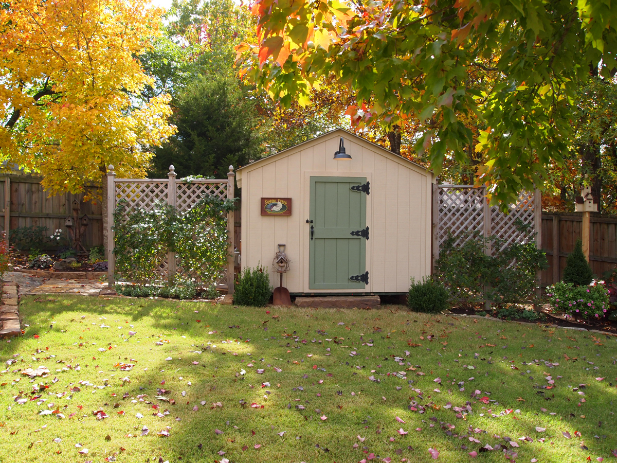Sue 39 s garden in arkansas finegardening for My shed app