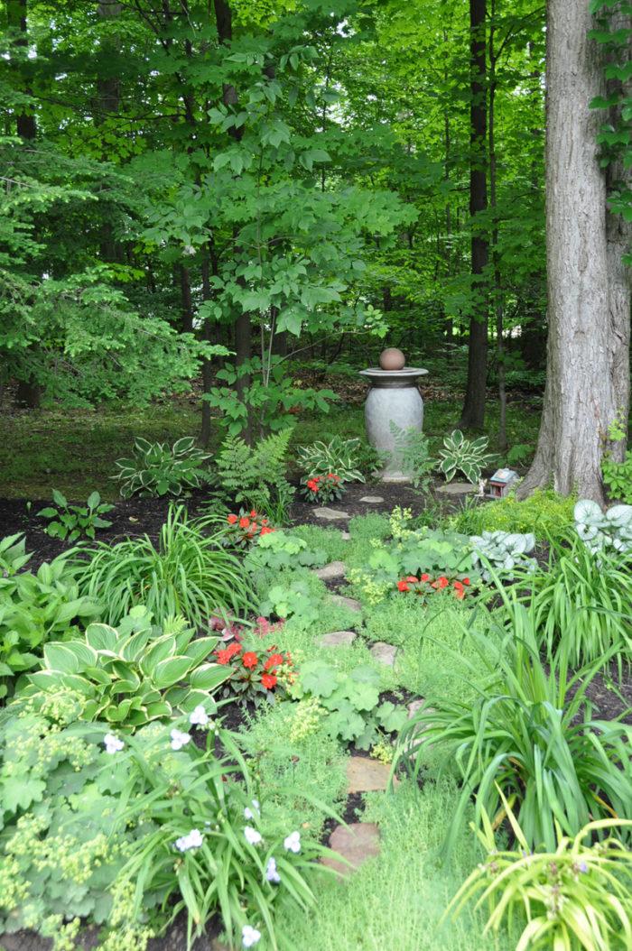 The Story Of Daniela S Shady Garden Path In Ohio 8 Photos