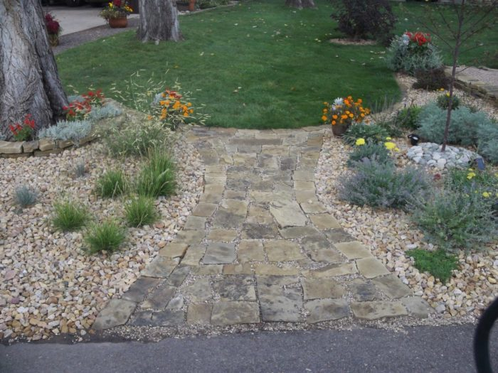 David S Front Yard Rock Garden In Colorado Day 1 Of 2 In