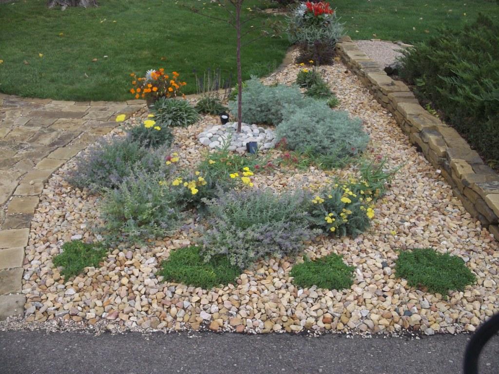 david's front-yard rock garden in colorado (day 1 of 2 in david's