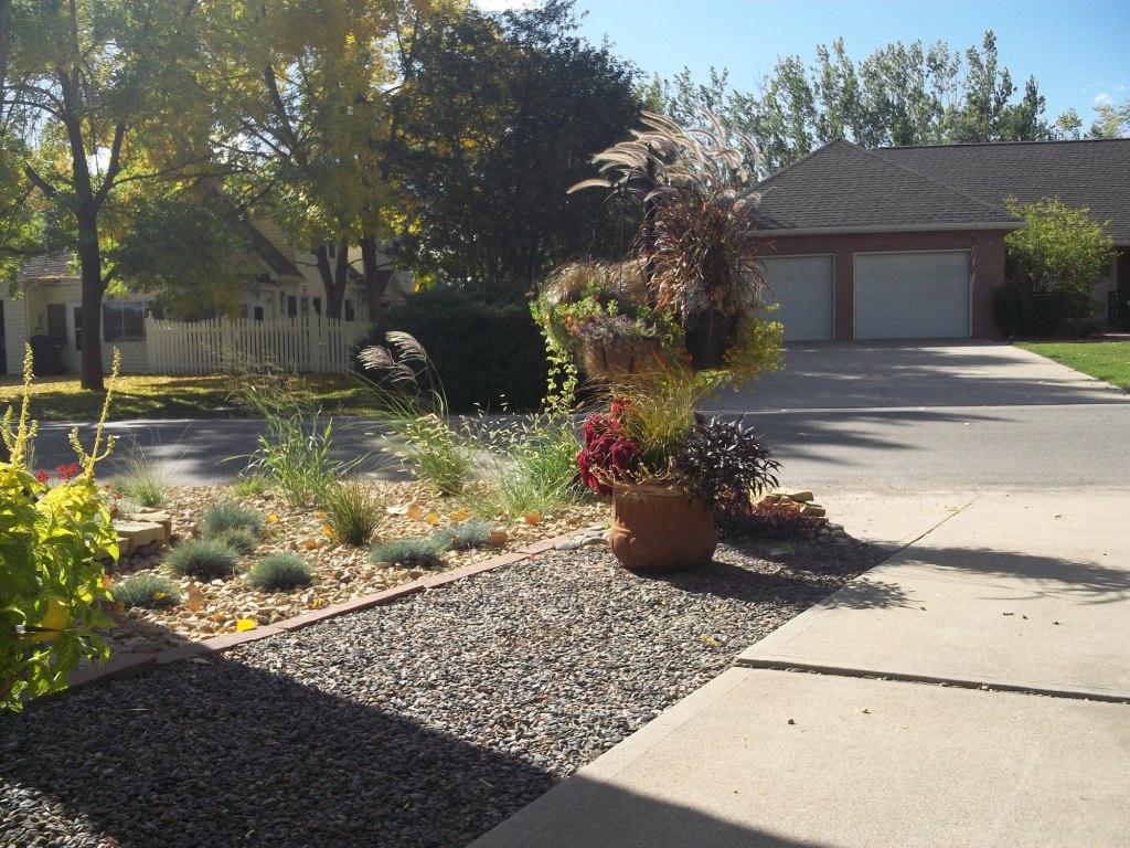 Davidu0027s Front Yard Rock Garden In Colorado (Day 1 Of 2 In Davidu0027s Garden)