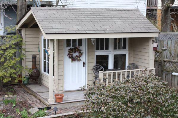 backyard storage building - Shed Designs