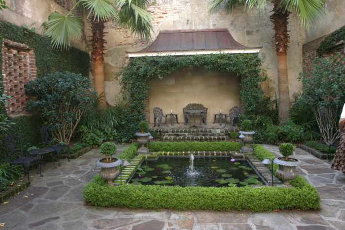 Entry Courtyard - Classic Courtyards - Southern Living   Nursery Courtyard