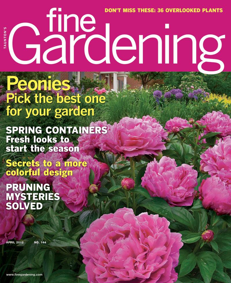 Charming Fine Gardening Magazine