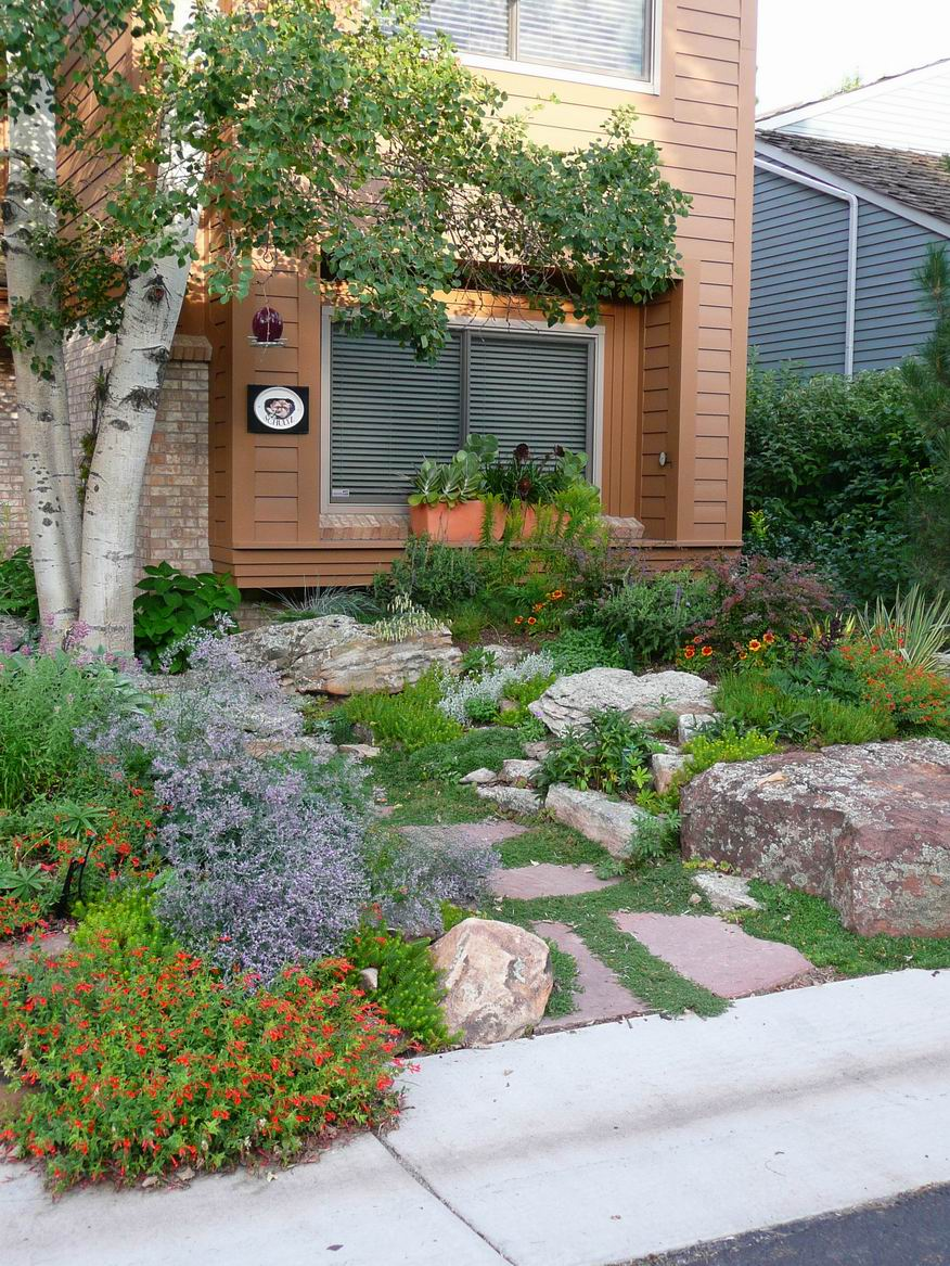 Reader Photo A Water Wise Entryway Garden In Denver