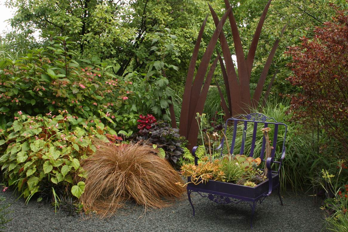 A funky chair-turned-planter - FineGardening