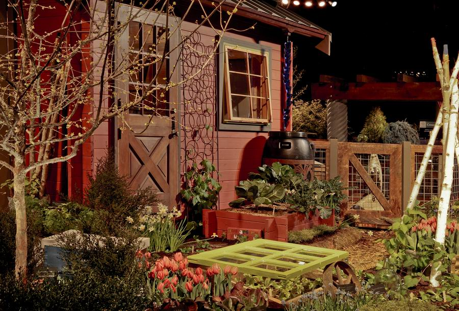 Northwest Flower And Garden Show. Display Garden By Seattle Tilth. Watch  The Videosu2026 Photo/Illustration: NW Bloom