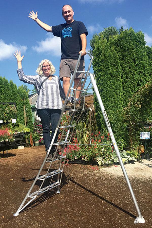 The Hasegawa Tripod Ladder
