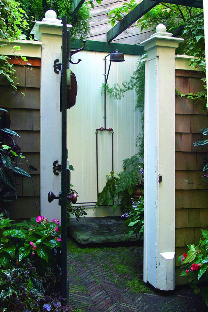 Creating An Outdoor Shower Finegardening
