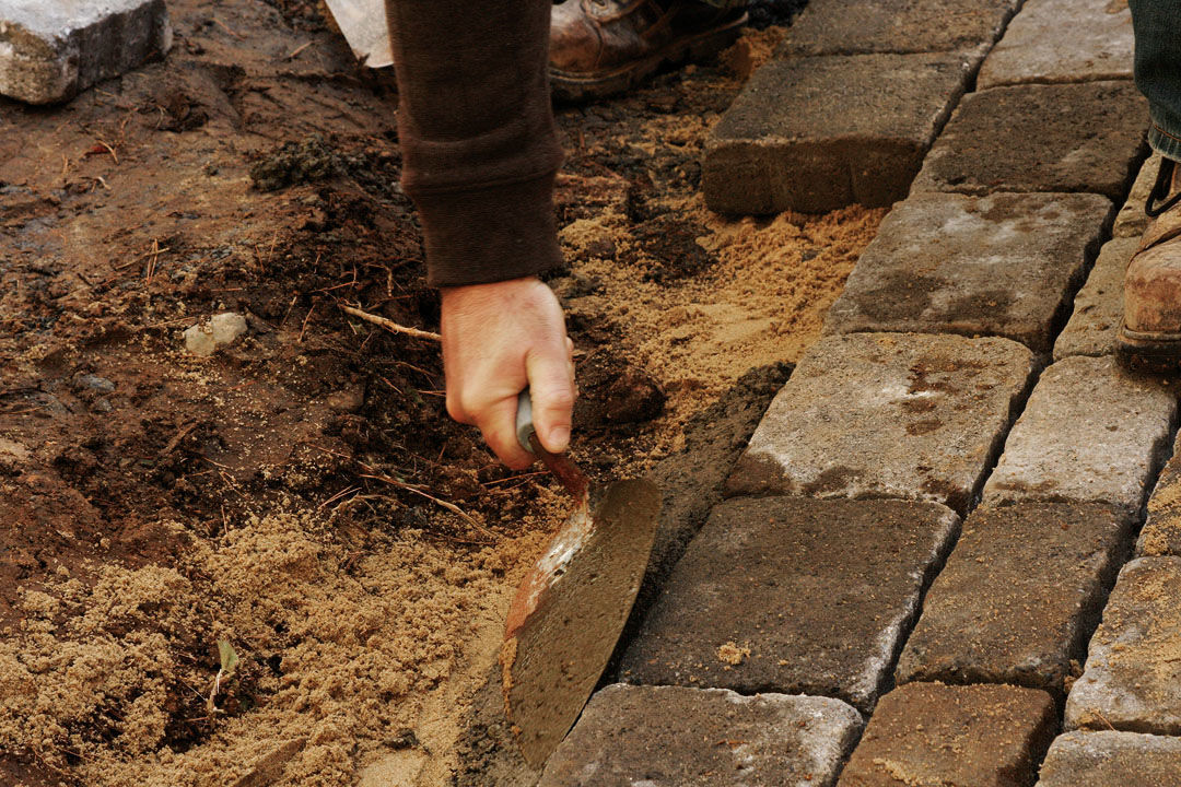 How to Build a Patio in a Weekend - FineGardening