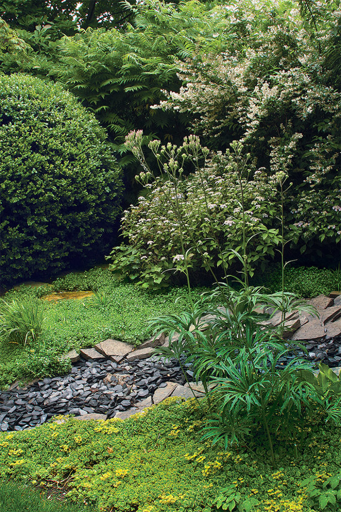 Overpowering A Garden With A Poor Architectural Choice, Ostentatious Stone  Groupings, Or Too Many Specimen Trees Gives The Viewer A ...