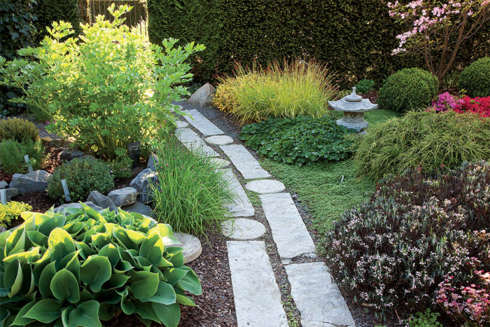 Elements of a Japanese Garden - FineGardening on modern garden spaces, limited garden spaces, formal garden spaces, small garden spaces,