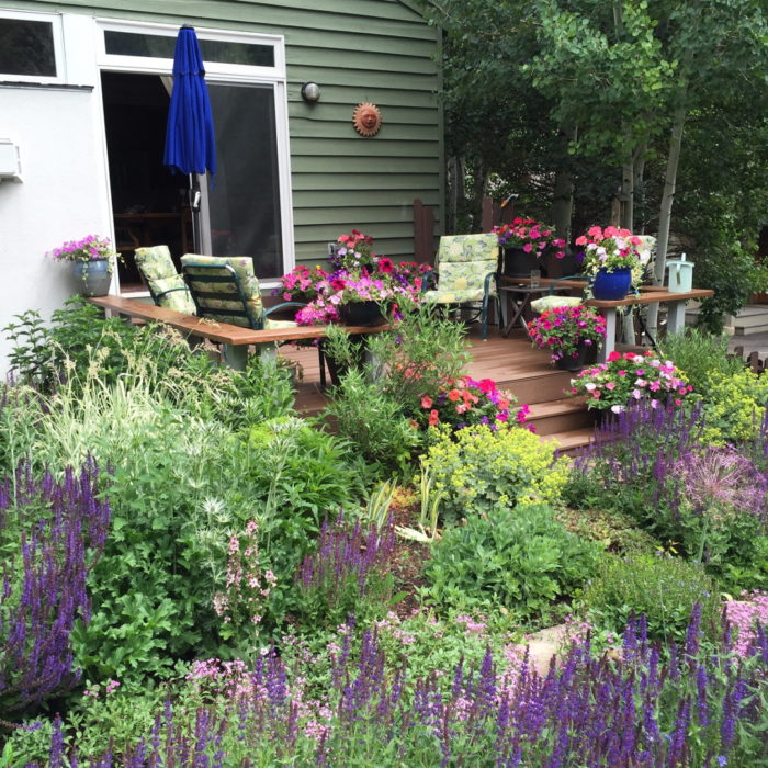 A Professional Gardener at Home