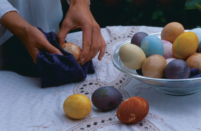 Dye Easter Eggs in Nature's Hues
