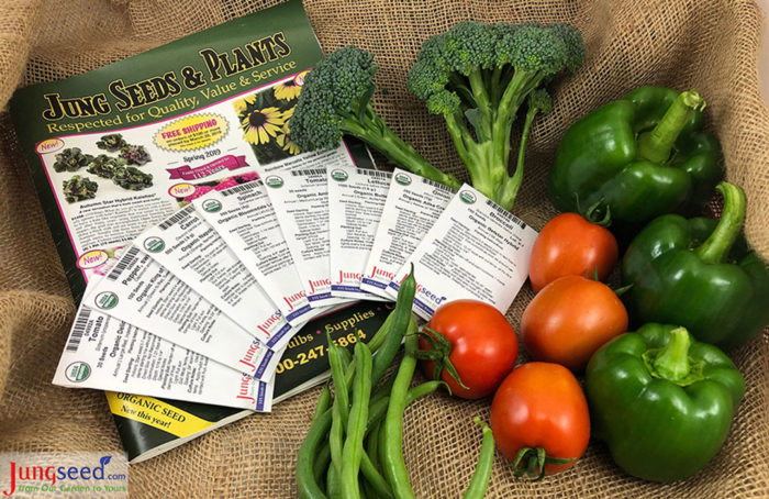 Jung Organic Vegetable Seed Collection