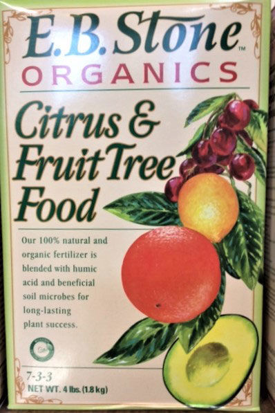 EB Stone's Organic Citrus and Fruit Tree Fertilizer