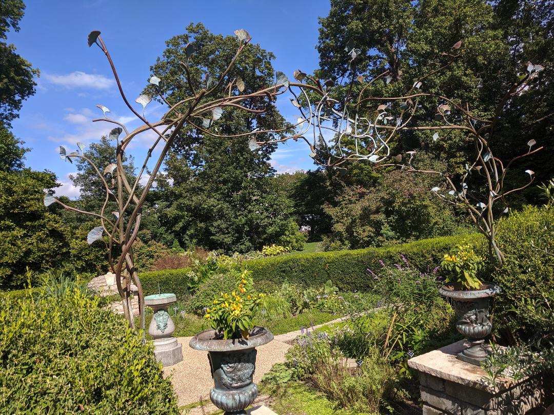 unusual garden archway