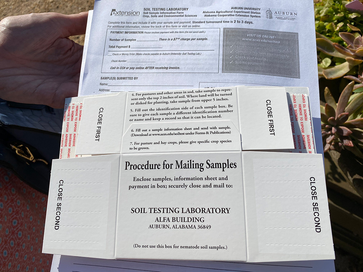 soil sample boxes