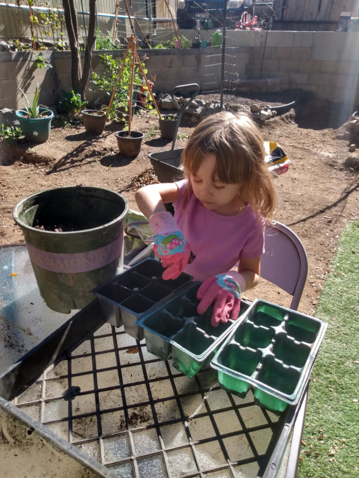 Gardening With a Three-Year-Old Assistant