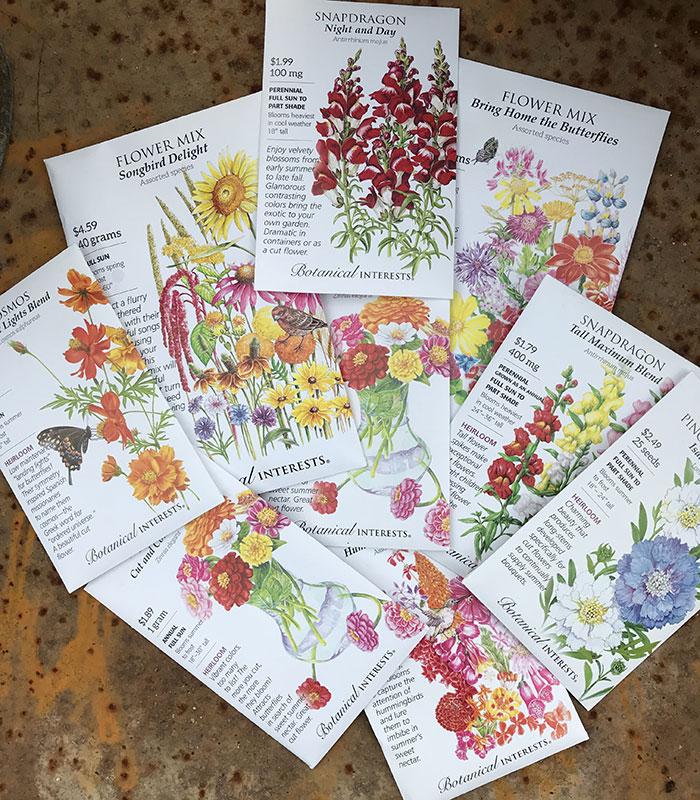 seeds for cutting garden