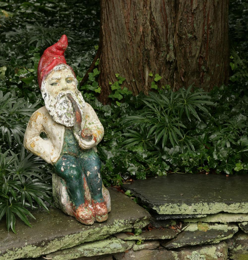 antique gnome