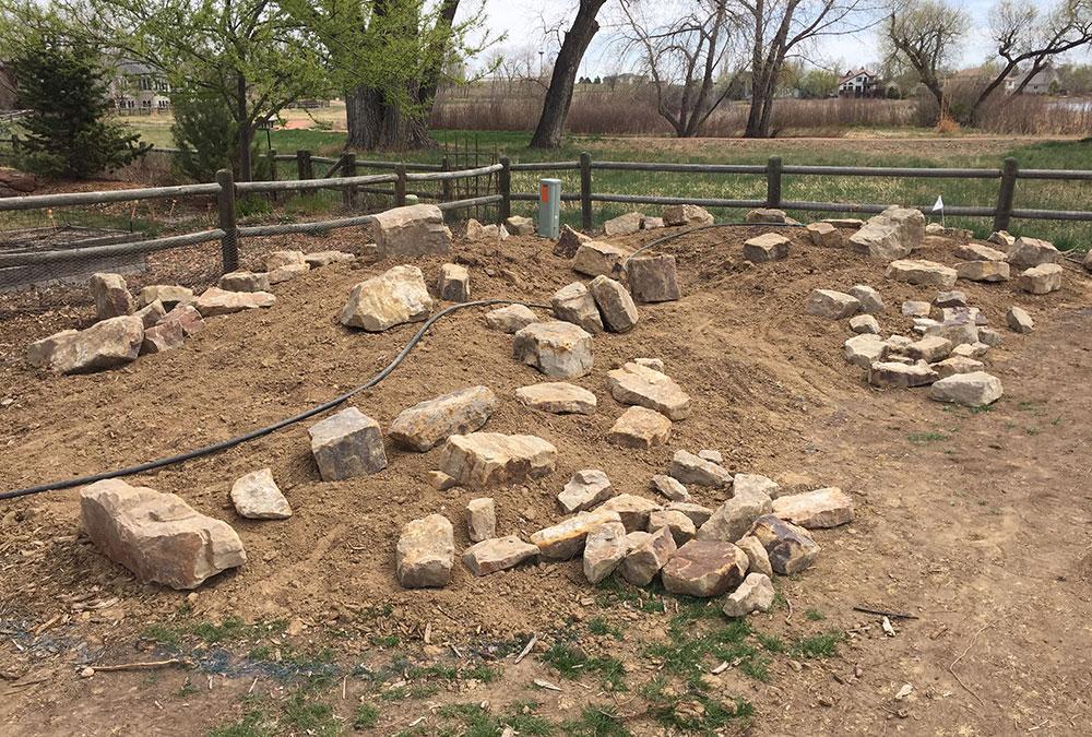 picking rocks for rock garden