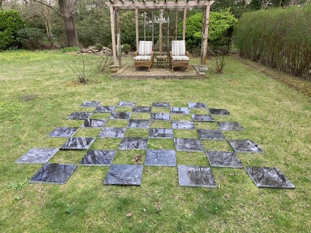 garden chessboard