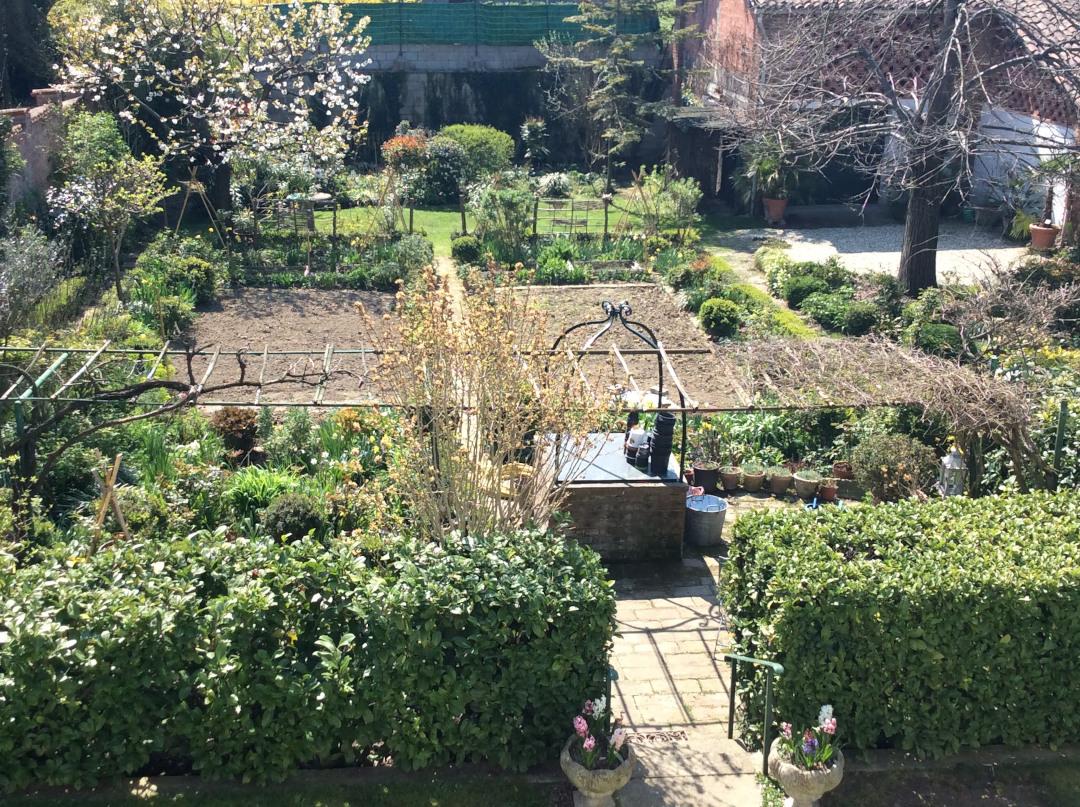 Italian vegtable garden