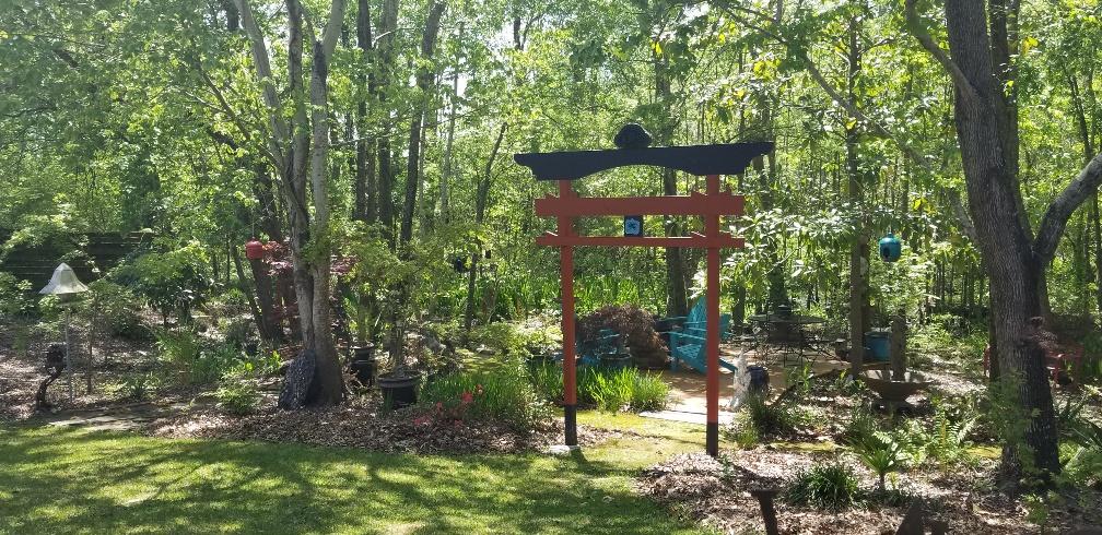 Japanese-style gate