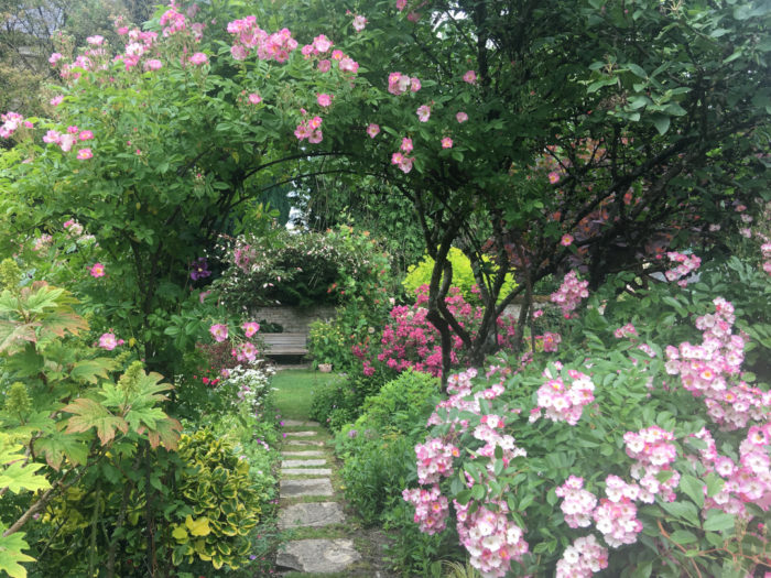 An English-Inspired Garden in France