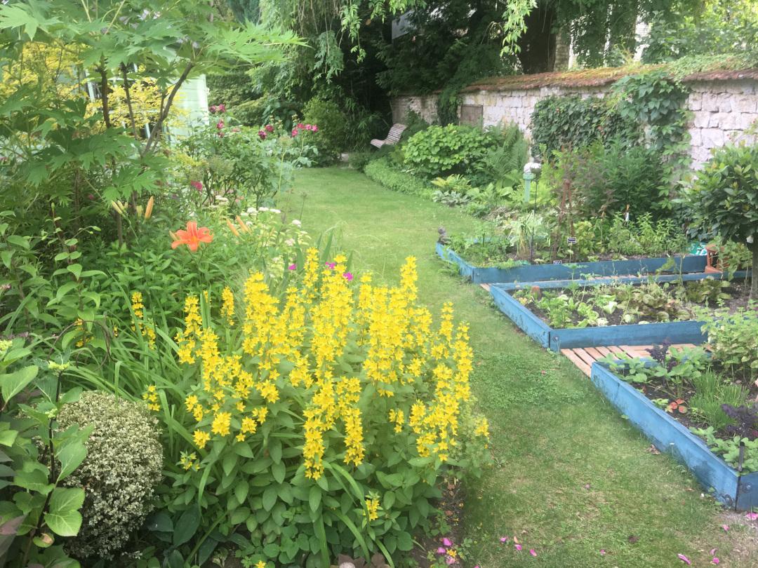 Marie-Antoinette's vegetable garden replica
