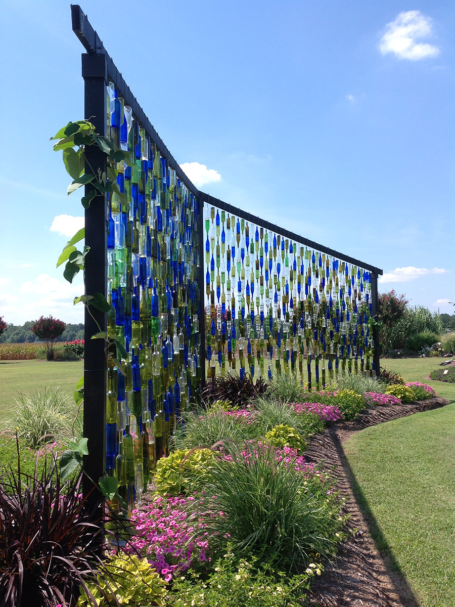 University of Tennessee bottle wall