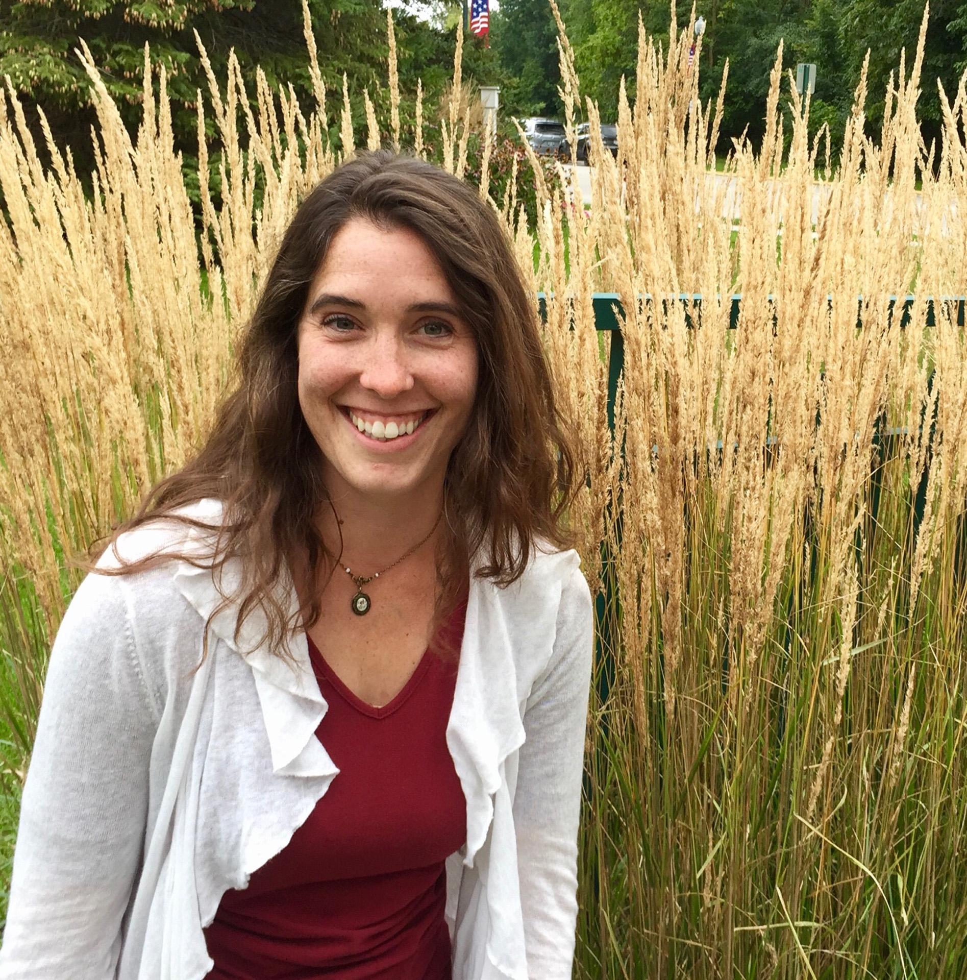 Photo of Erin Presley, this week's garden expert
