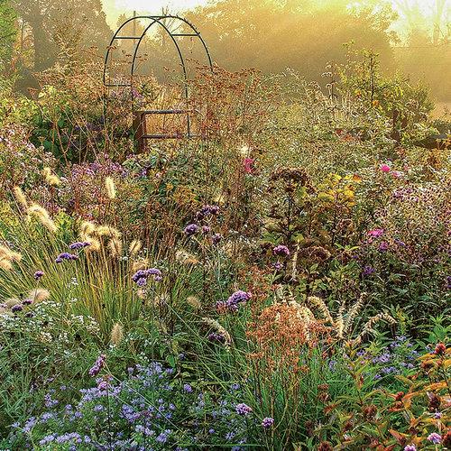 blending garden styles