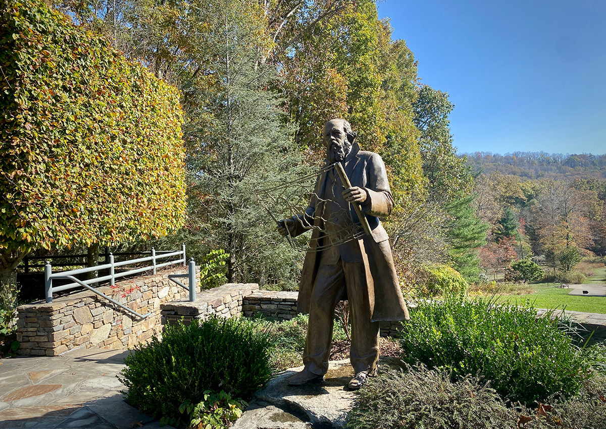 Frederick Law Olmstead statue