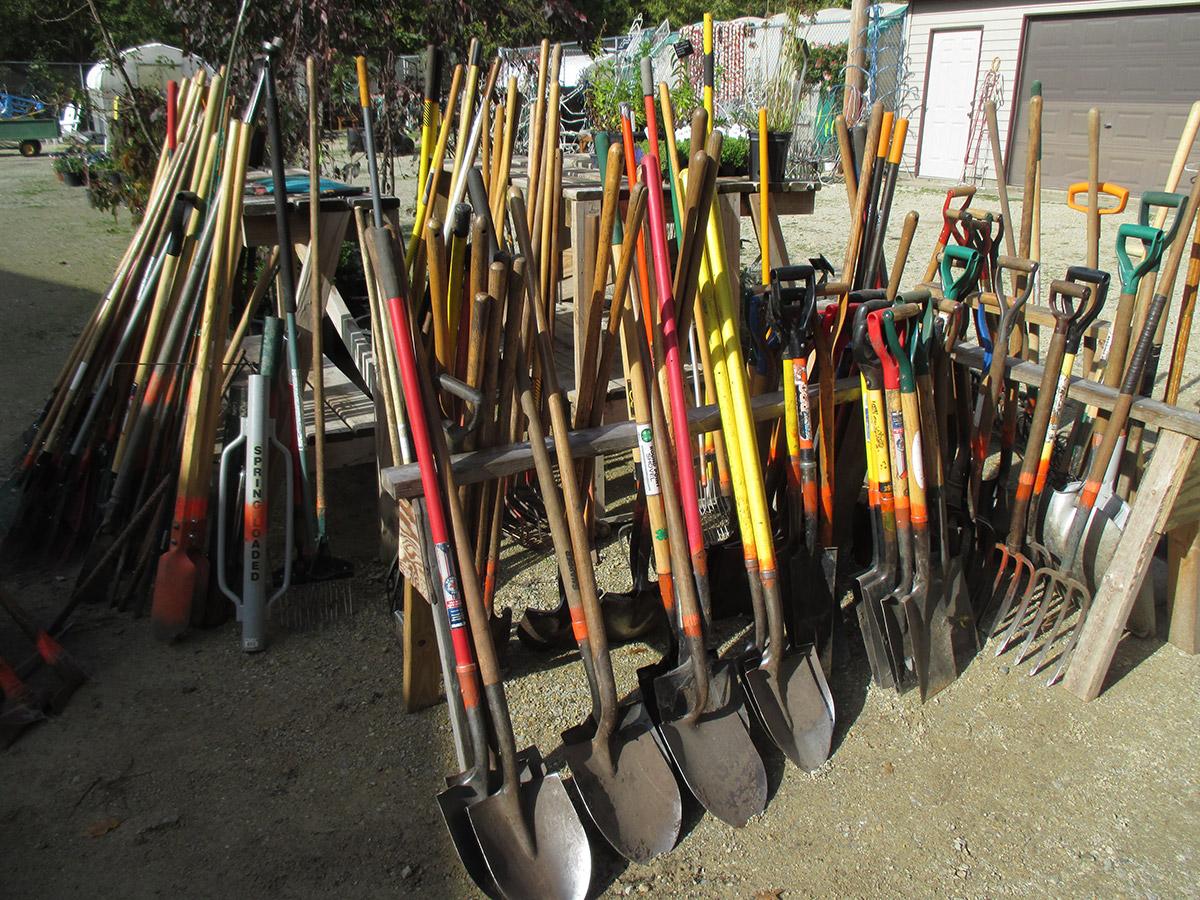 shovels