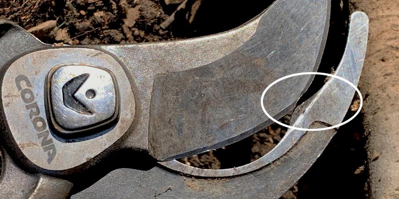 Corona Tools bypass lopper damaged