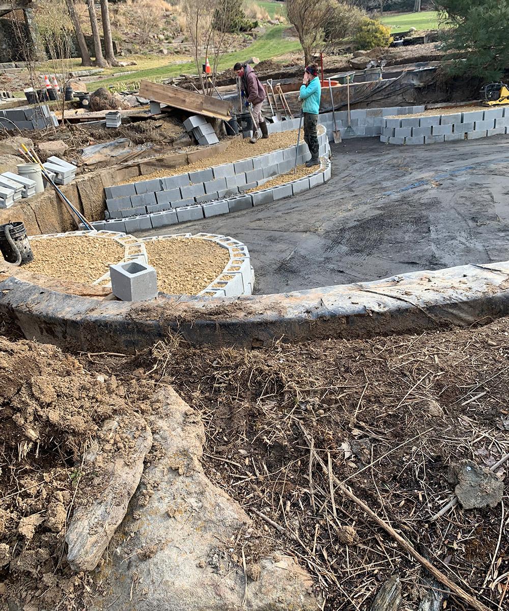 pond garden maintenance