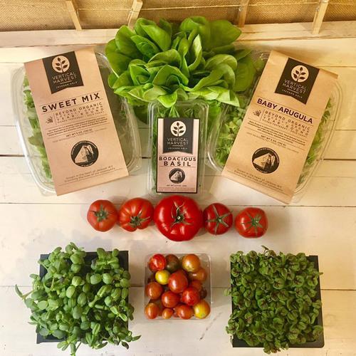 Vertical Harvest produce