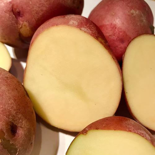 Red Johnny potatoes