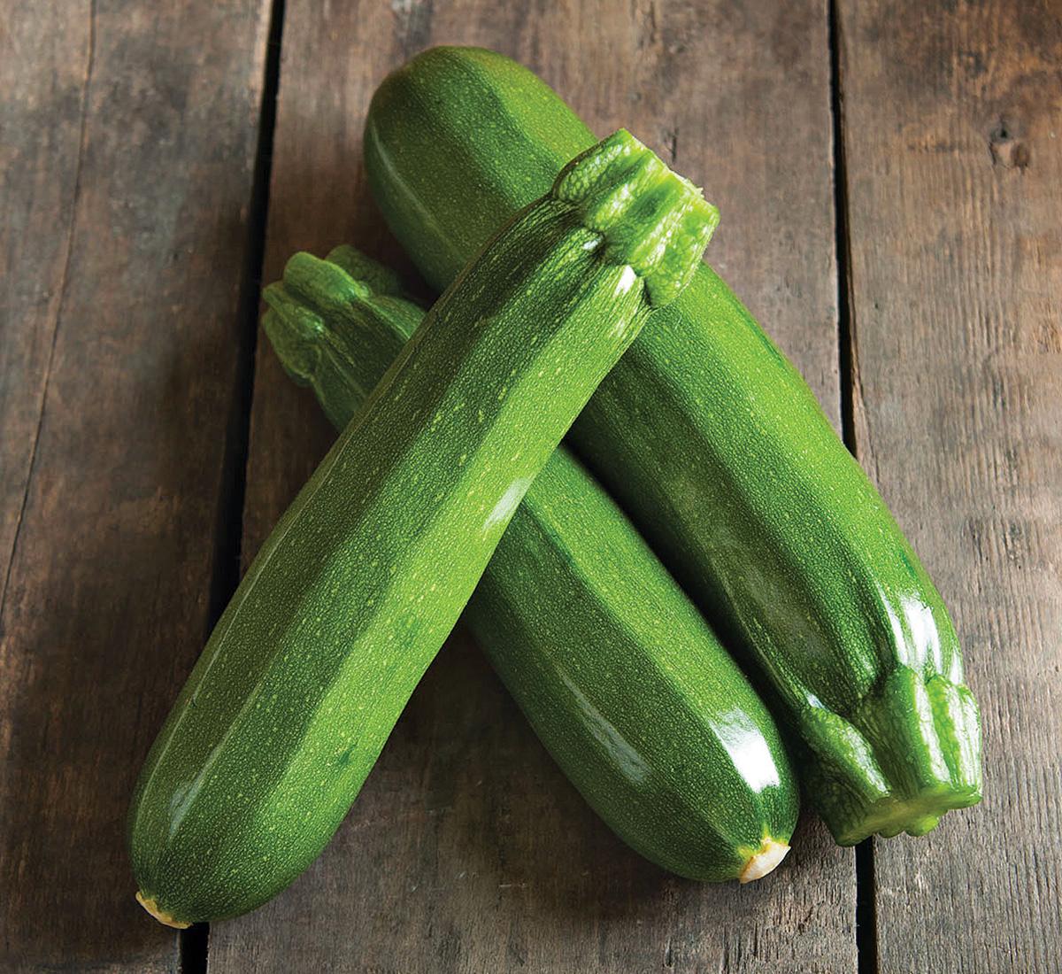 Spineless Perfection zucchini