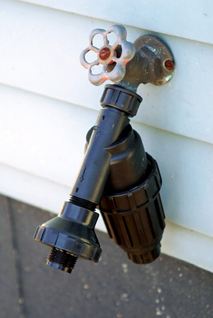 water filter on spigot